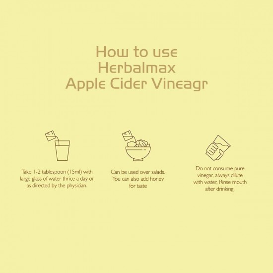 Apple Cider Vinegar - Liquid + Pure Honey