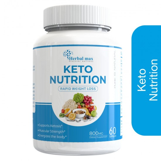 Herbal max Keto Nutrition Rapid Weight Loss for Weight Management