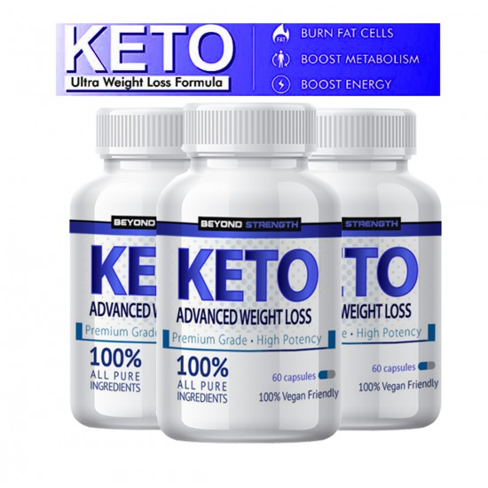 KETO Advanced Weight Loss - 3 bottle