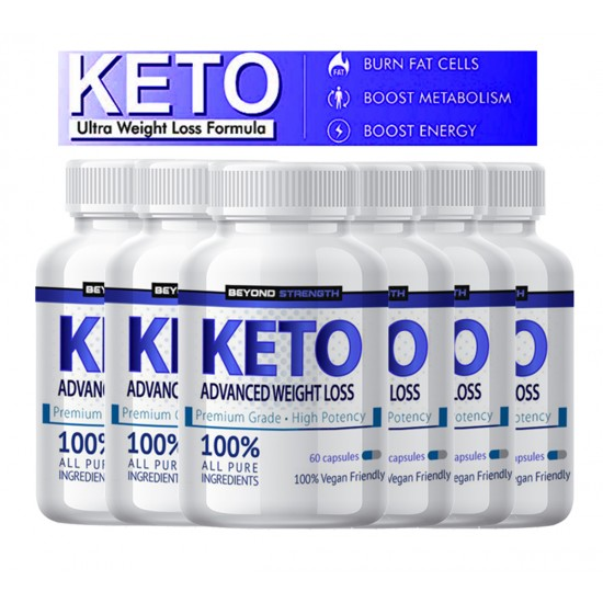 KETO ADVANCED WEIGHT LOSS - 6 BOTTLE