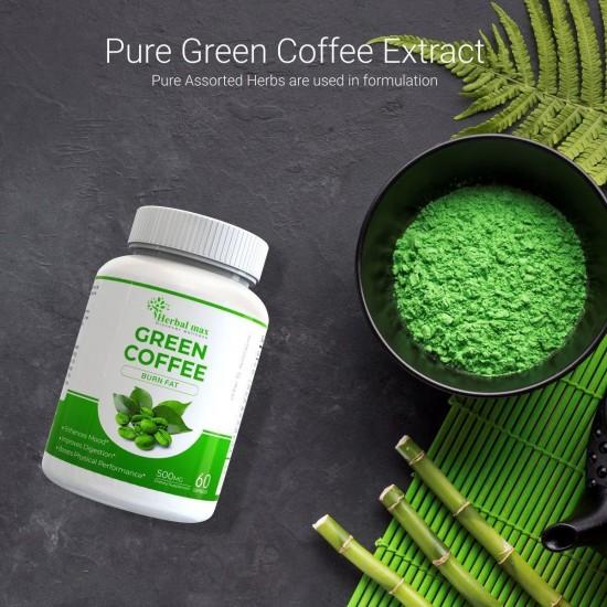Herbalmax Green Coffee Beans capsules