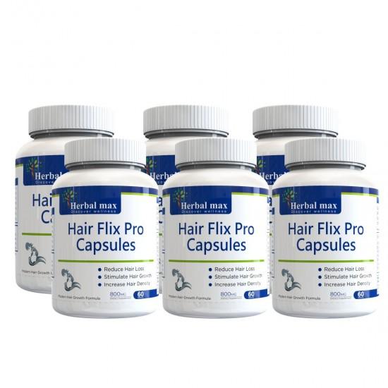 HairFlix pro capsules – 6 bottle