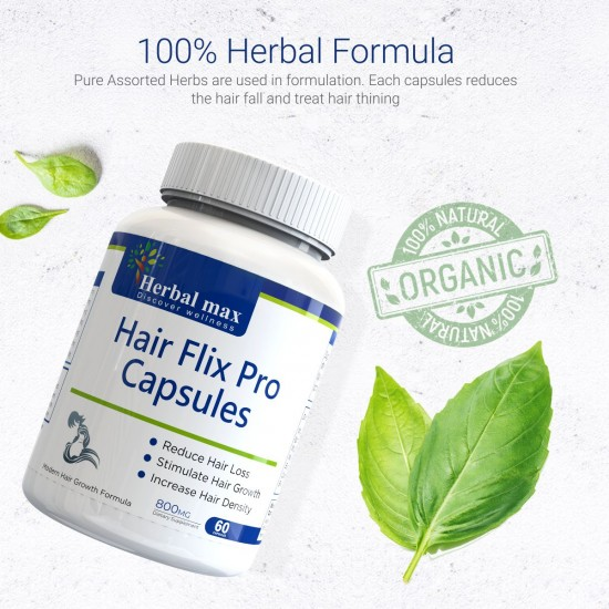 HairFlix pro capsules - 4 bottle